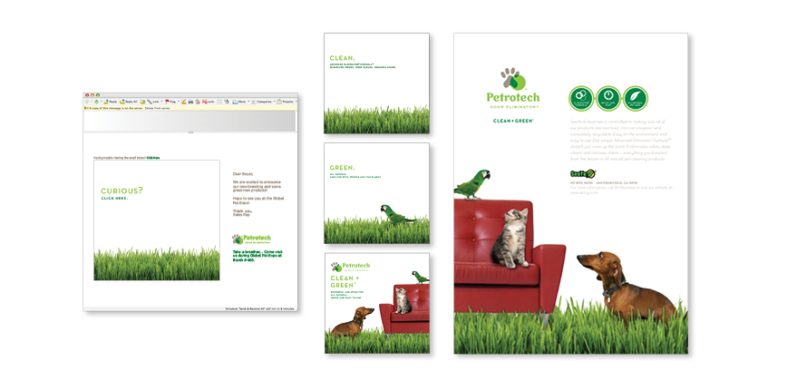 Print and Email Campaign