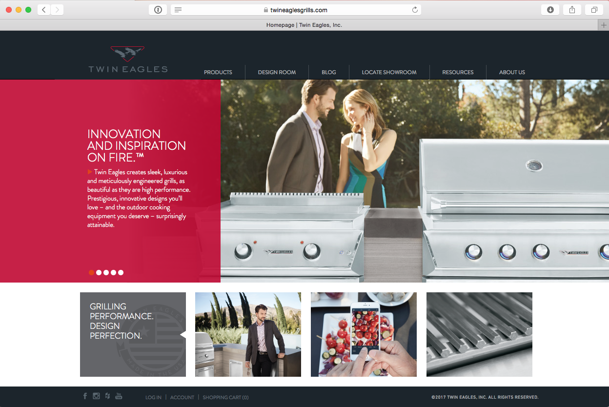 Kitchen Collaborative Launches New Website for Twin Eagles Grills ...